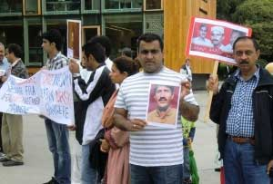 Norway Protest over Baloch missing