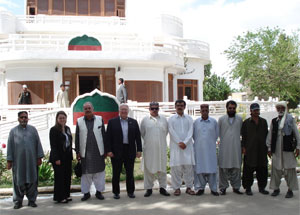 US Consul General visits Khan of Kalat palace